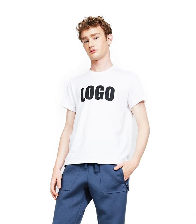 Aspesi - Saldi - t-shirt logo bianca 1