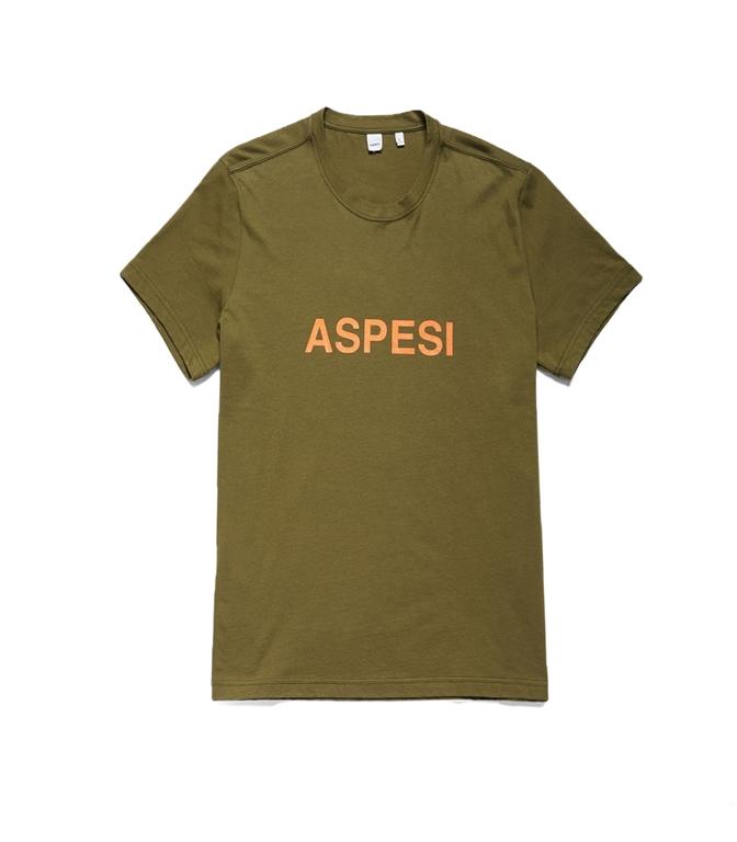 Aspesi - Outlet - t-shirt aspesi militare