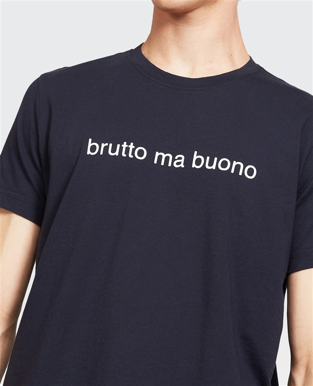 Aspesi - Outlet - t-shirt brutto ma buono navy 1