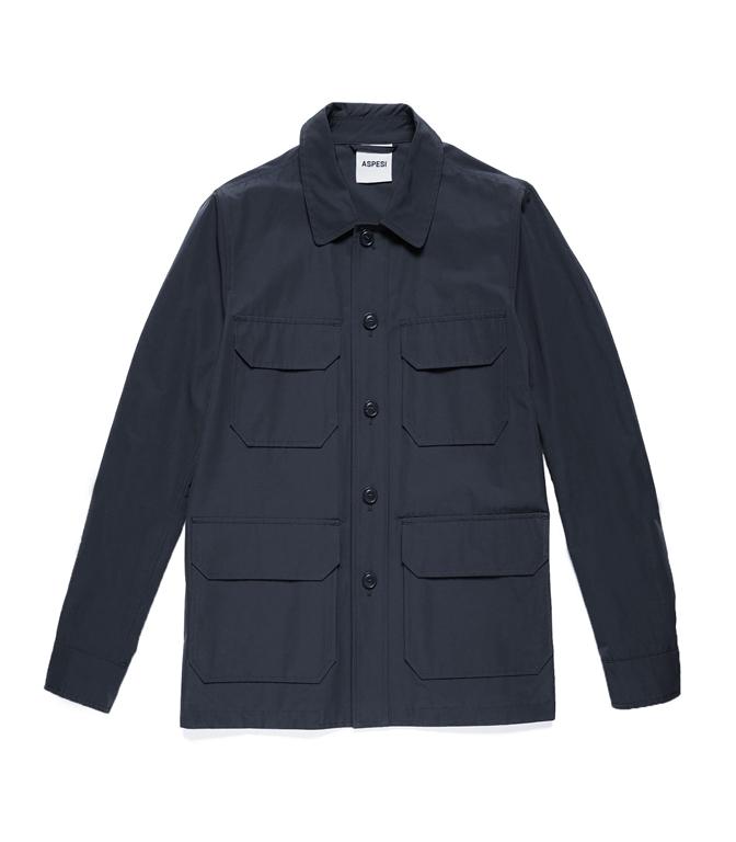 Aspesi - Giacche - giacca tadao pro blu