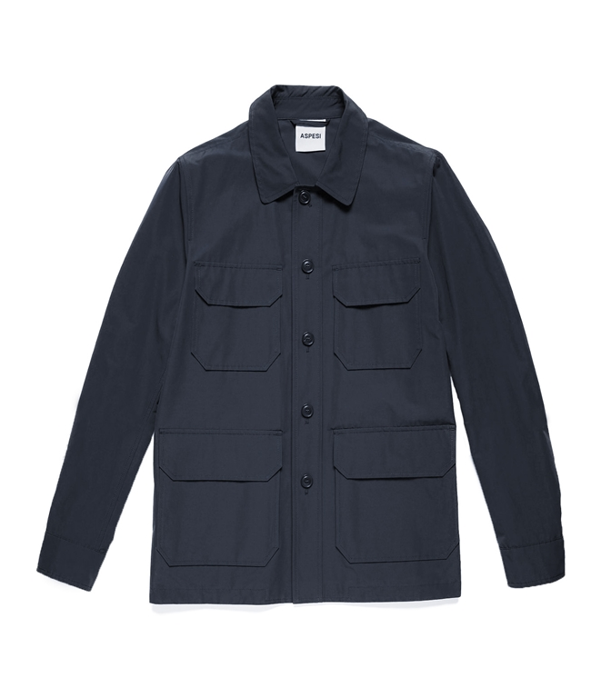 Aspesi - Outlet - giacca tadao pro blu