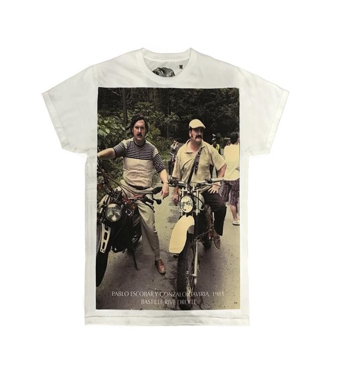 Bastille - T-Shirt - t-shirt con stampa pablo 21 bianca
