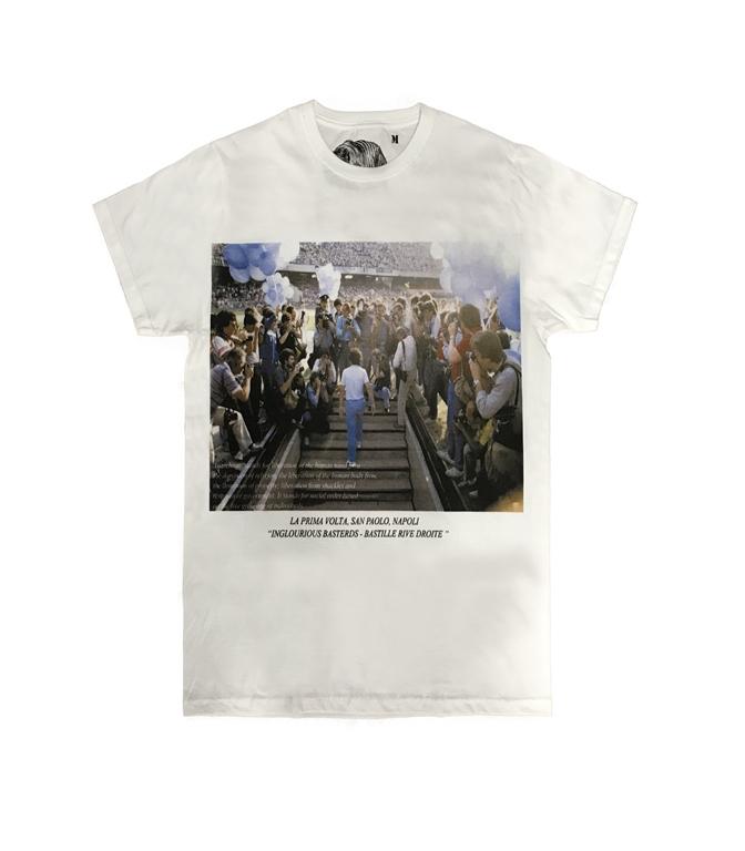 Bastille - T-Shirt - T-SHIRT CON STAMPA PRIMAVOLTA BIANCA