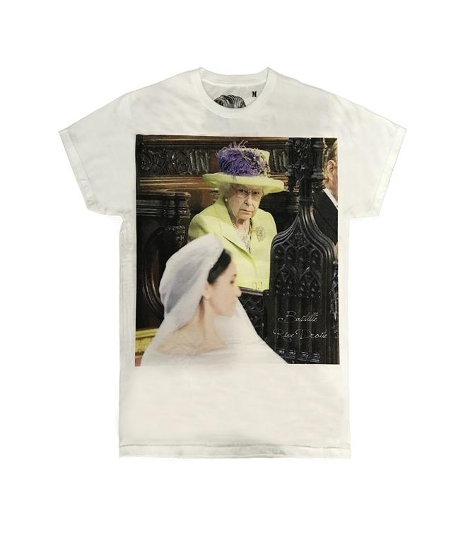 Bastille - T-Shirt - T-SHIRT CON STAMPA YELLOW QUEEN BIANCA
