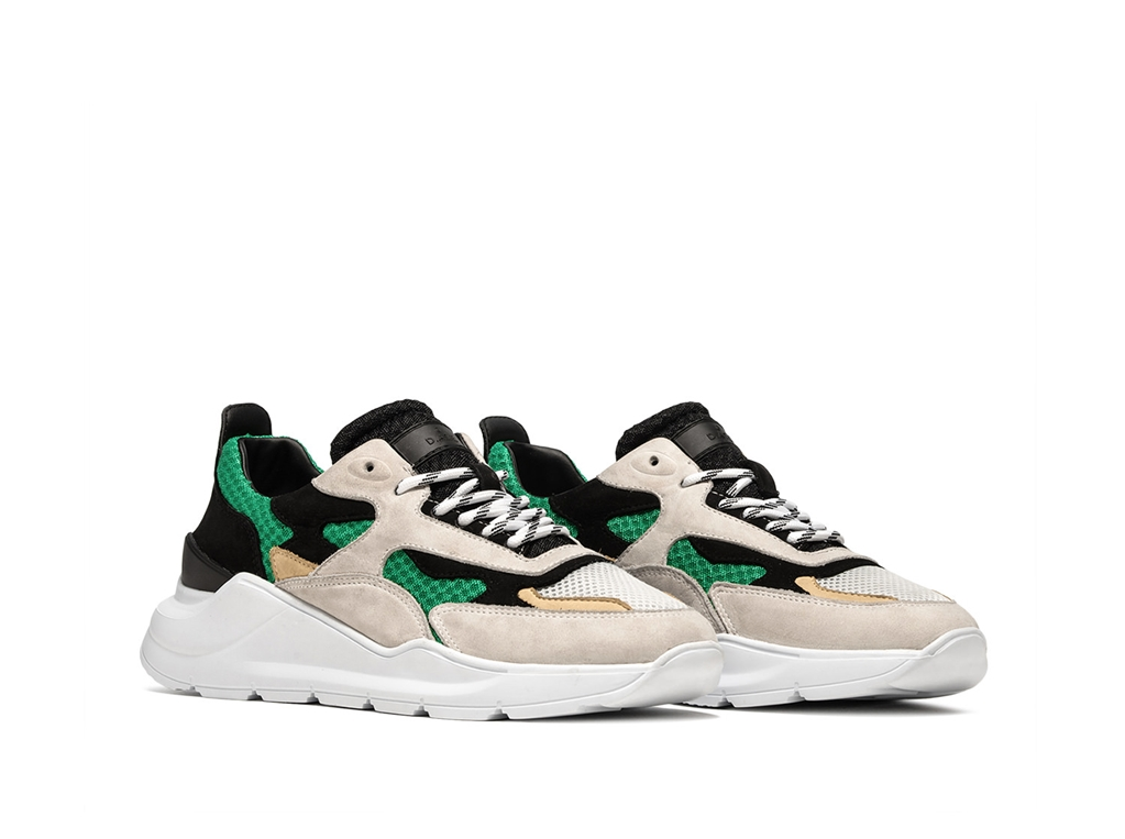 D.A.T.E. - Scarpe - Sneakers - fuga mash green 1