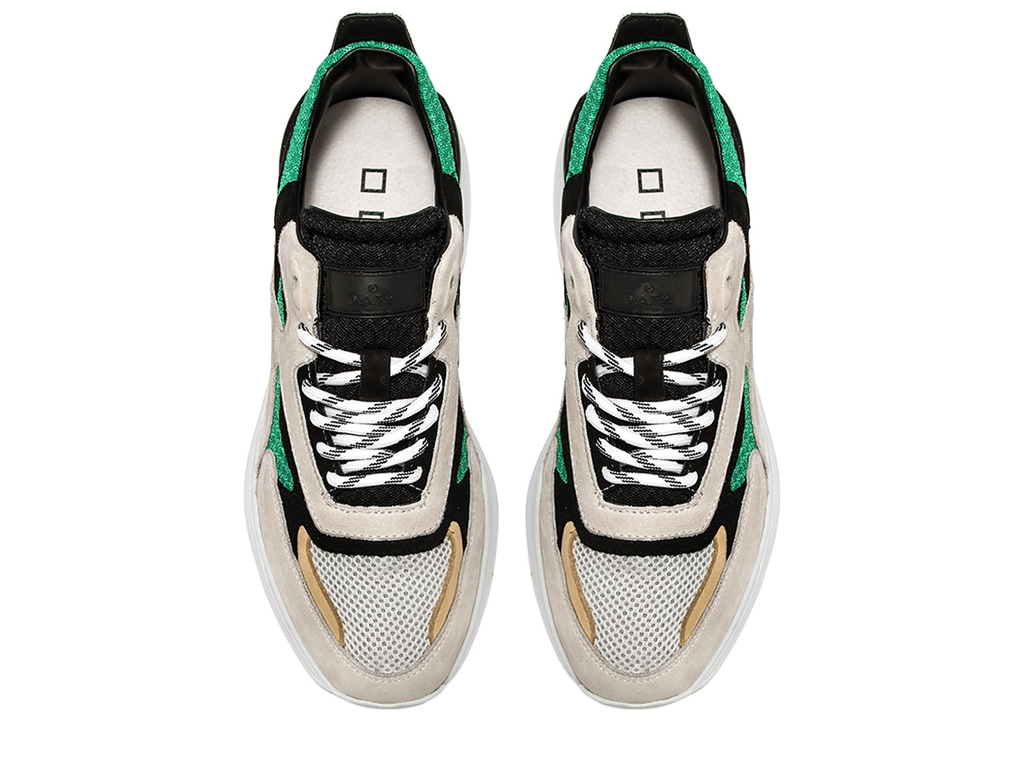 D.A.T.E. - Scarpe - Sneakers - fuga mash green 2
