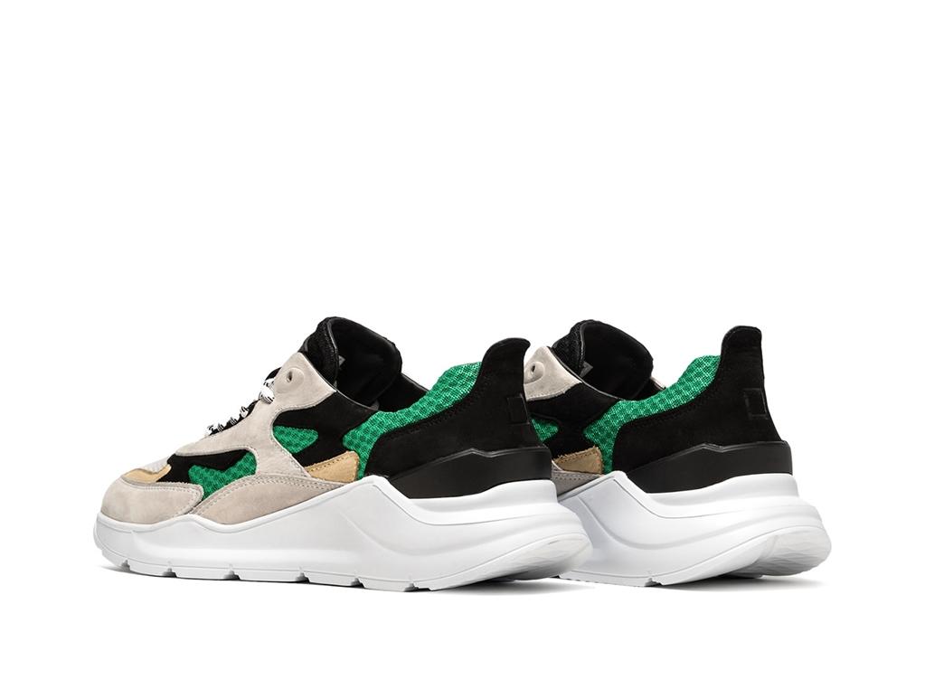 D.A.T.E. - Scarpe - Sneakers - fuga mash green 3