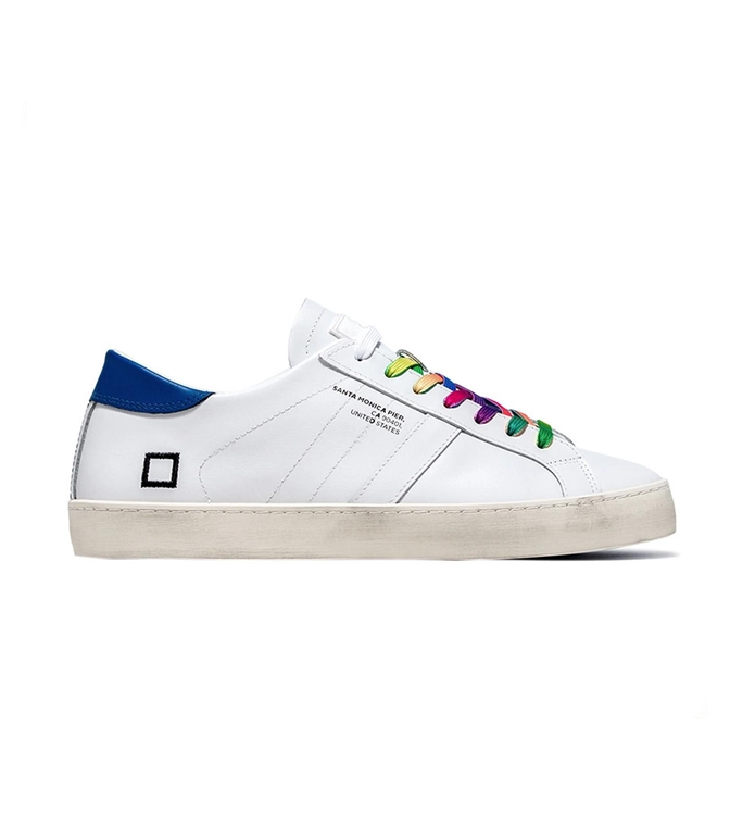 D.A.T.E. - Scarpe - Sneakers - HILL LOW POP WHITE-COLORED