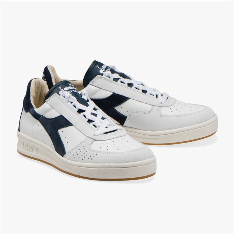 Diadora Heritage - Scarpe - Sneakers - b.elite s l bianco/blu denim 1