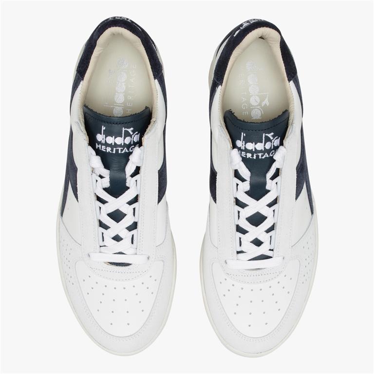 Diadora Heritage - Scarpe - Sneakers - b.elite s l bianco/blu denim 2
