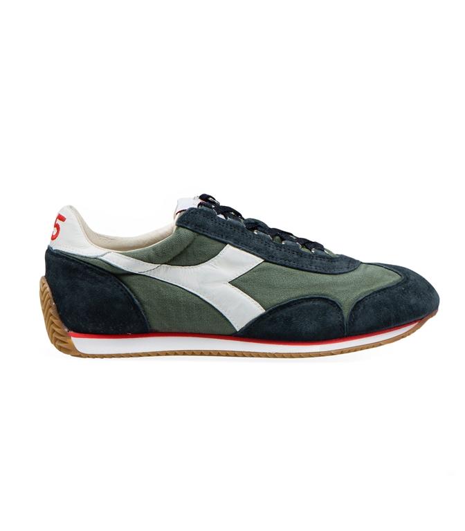 Diadora Heritage - Scarpe - Sneakers - EQUIPE H CANVAS STONE WASH VERDE TIMO