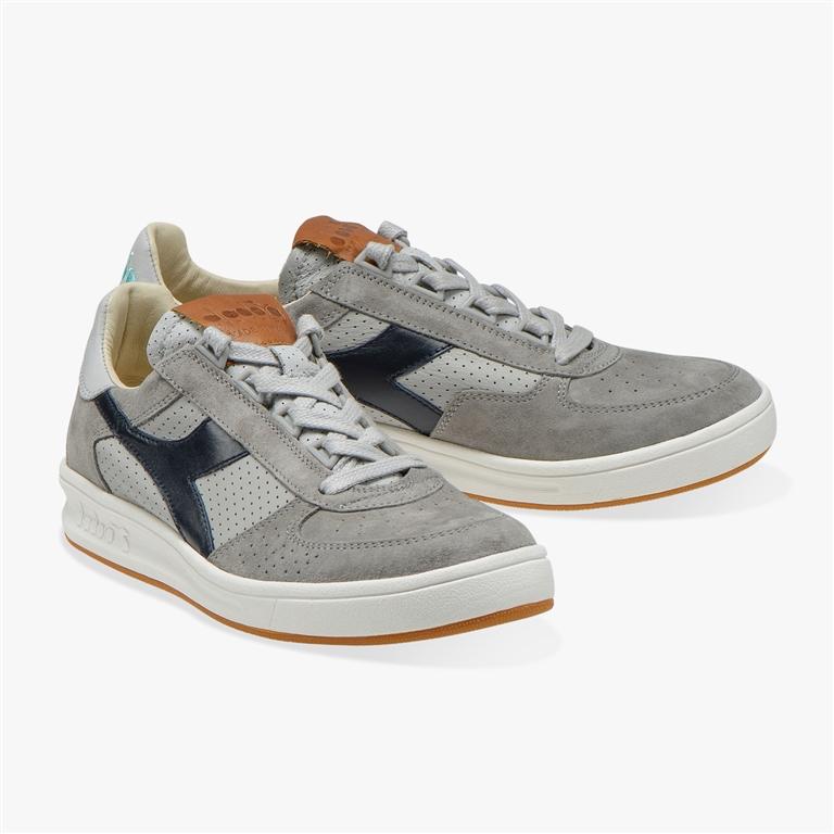 Diadora Heritage - Scarpe - Sneakers - b.elite h italia grigio pioggia 1