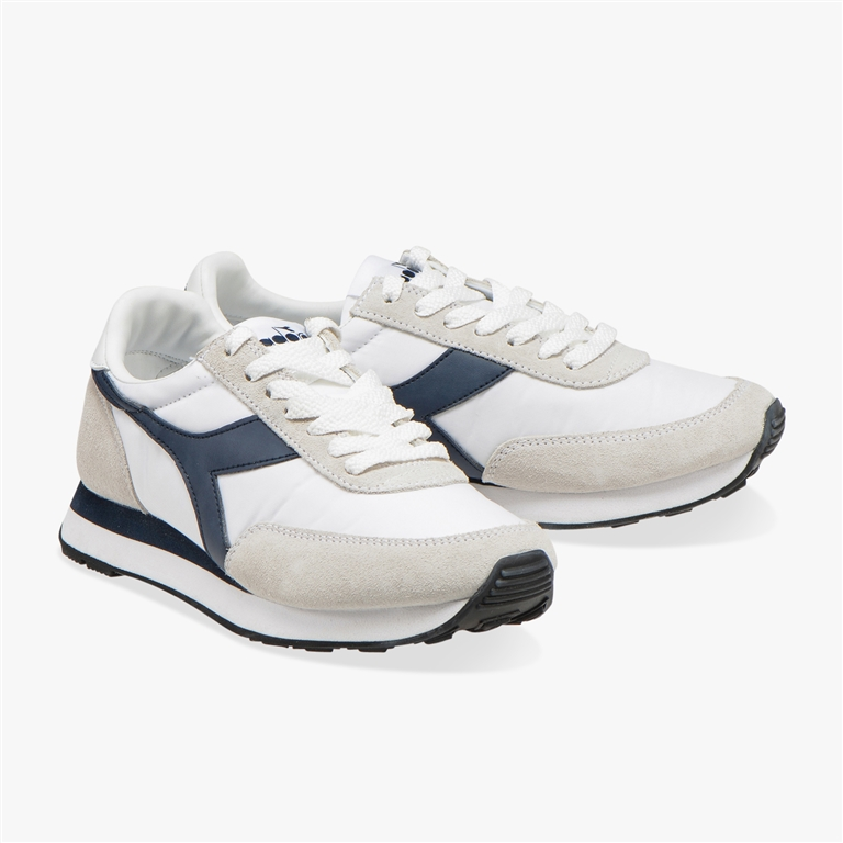Diadora Heritage - Scarpe - Sneakers - koala h bianco/blu denim 1