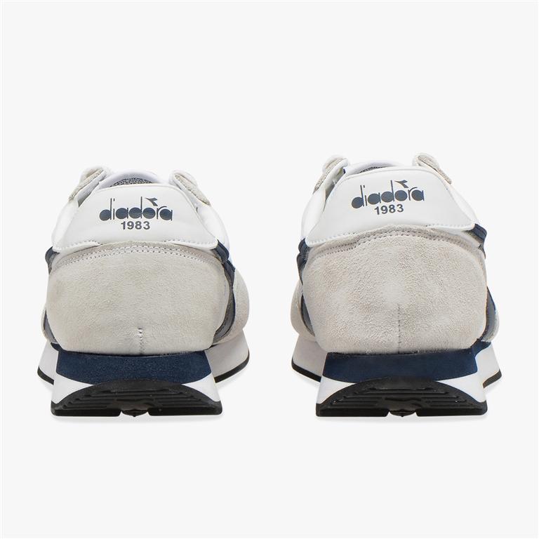 Diadora Heritage - Scarpe - Sneakers - koala h bianco/blu denim 2