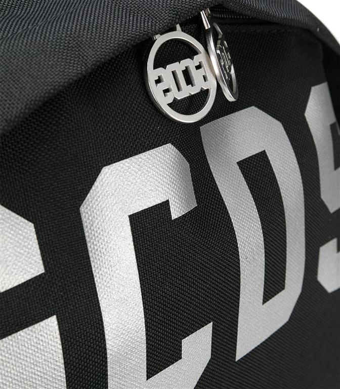 GCDS - Borse - logo backpack black 1