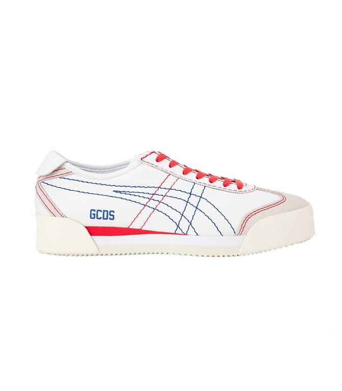 GCDS - Scarpe - Sneakers - MEXICO BASED WHITE/BLUE