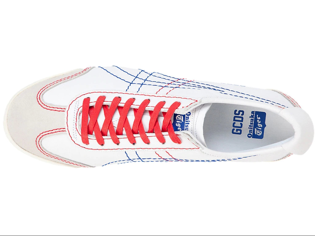 GCDS - Scarpe - Sneakers - mexico based white/blue 1