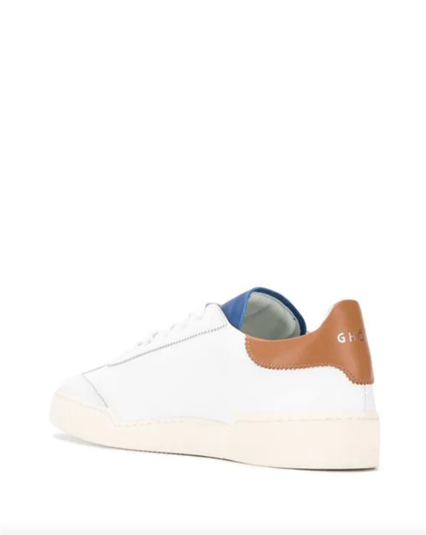 Ghoud Venice - Scarpe - Sneakers - sneaker in pelle liscia white/denim blu 1