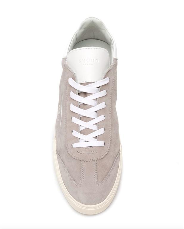 Ghoud Venice - Saldi - sneaker in suede grey/white 1
