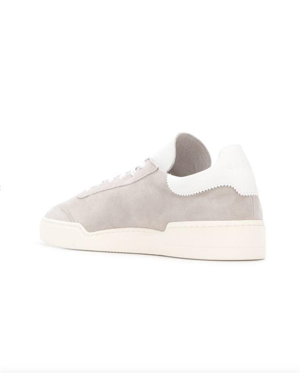 Ghoud Venice - Saldi - sneaker in suede grey/white 2