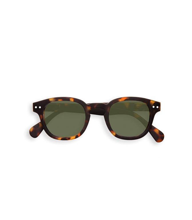 Izipizi - Occhiali - c sun tortoise green lenses