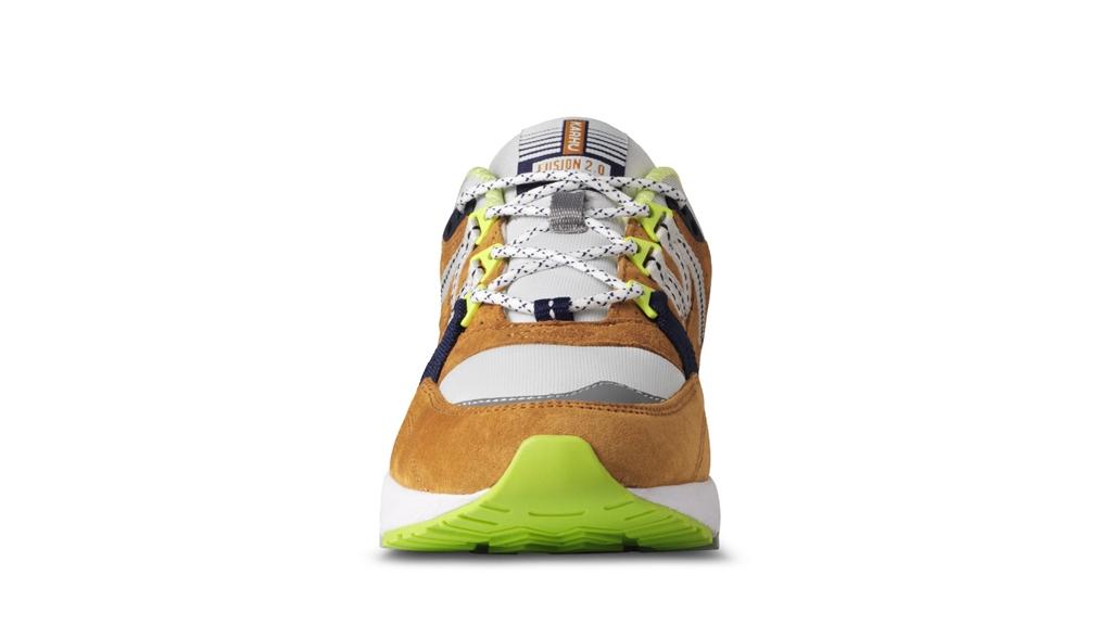 "Karhu - Scarpe - Sneakers - sneaker fusion 2.0""catch of the day"" pack - part 1 buckthorn brown/blu flower 2"