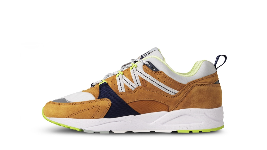 "Karhu - Scarpe - Sneakers - sneaker fusion 2.0""catch of the day"" pack - part 1 buckthorn brown/blu flower 3"