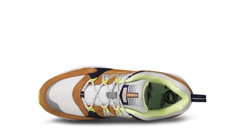 "Karhu - Scarpe - Sneakers - sneaker fusion 2.0""catch of the day"" pack - part 1 buckthorn brown/blu flower 4"