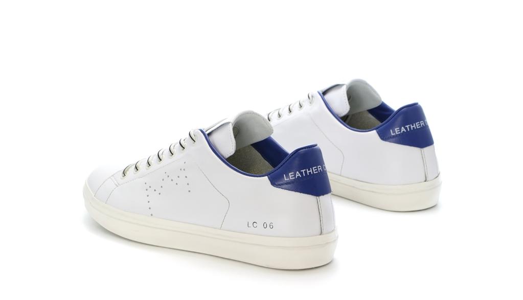 Leather Crown - Scarpe - Sneakers - sneaker mlc06 white/jeans 2