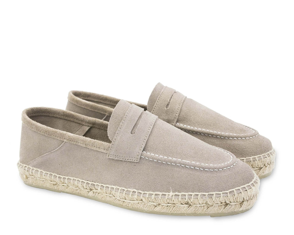 Manebì - Outlet - w1.9 l0 loafers hamptons vintage taupe 1