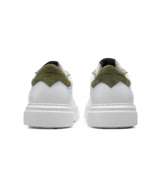Philippe Model - Scarpe - Sneakers - temple - veau blanc militaire 1