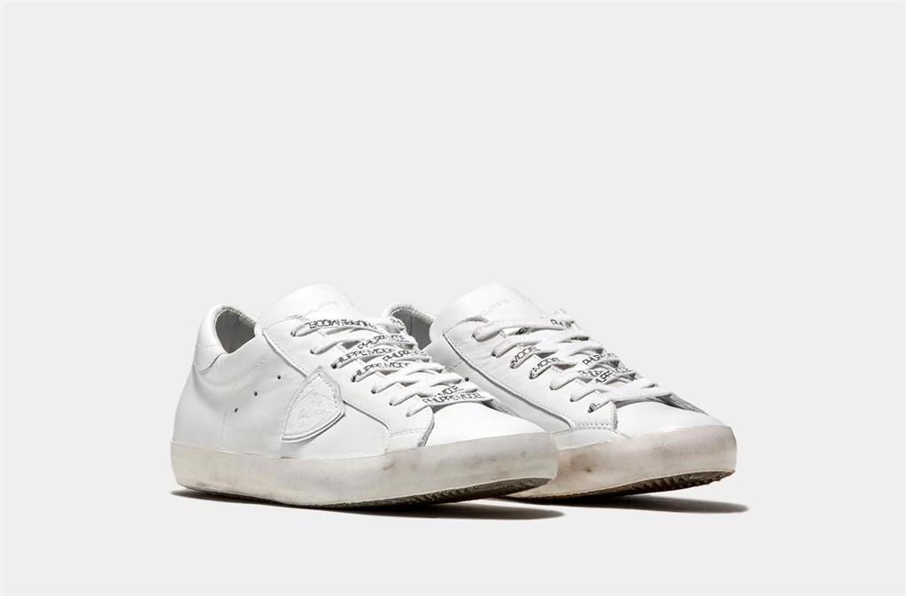 Philippe Model - Scarpe - Sneakers - paris - basic blanc blanc 1