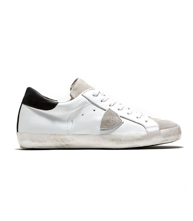 Philippe Model - Scarpe - Sneakers - paris - basic blanc gris