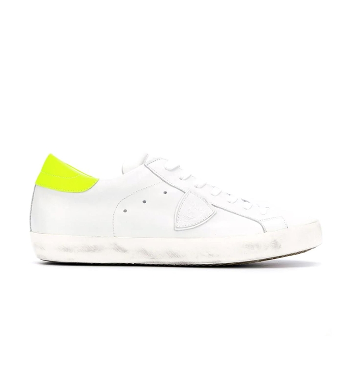 Philippe Model - Scarpe - Sneakers - PARIS - VEAU NEON BLANC JAUNE