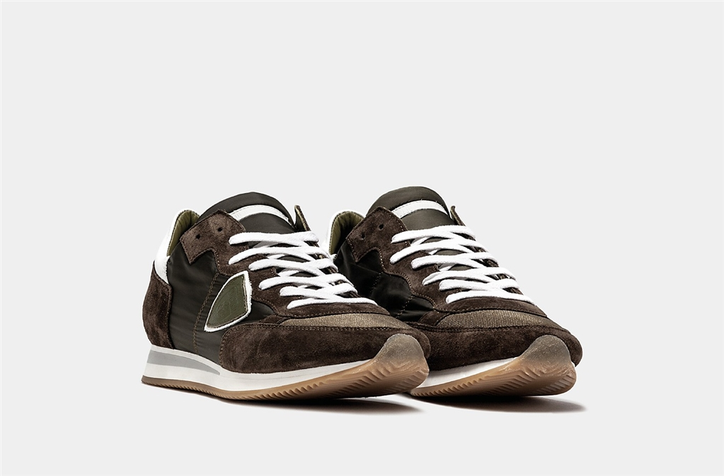 Philippe Model - Scarpe - Sneakers - tropez - basic militare 1