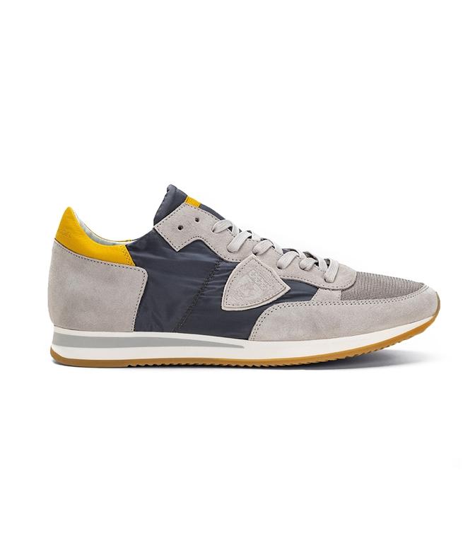Philippe Model - Scarpe - Sneakers - TROPEZ - MONDIAL GRIS GRIS