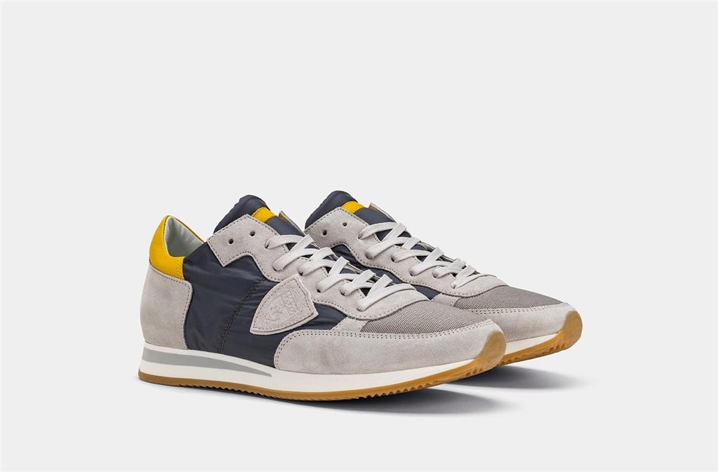 Philippe Model - Scarpe - Sneakers - tropez - mondial gris gris 1