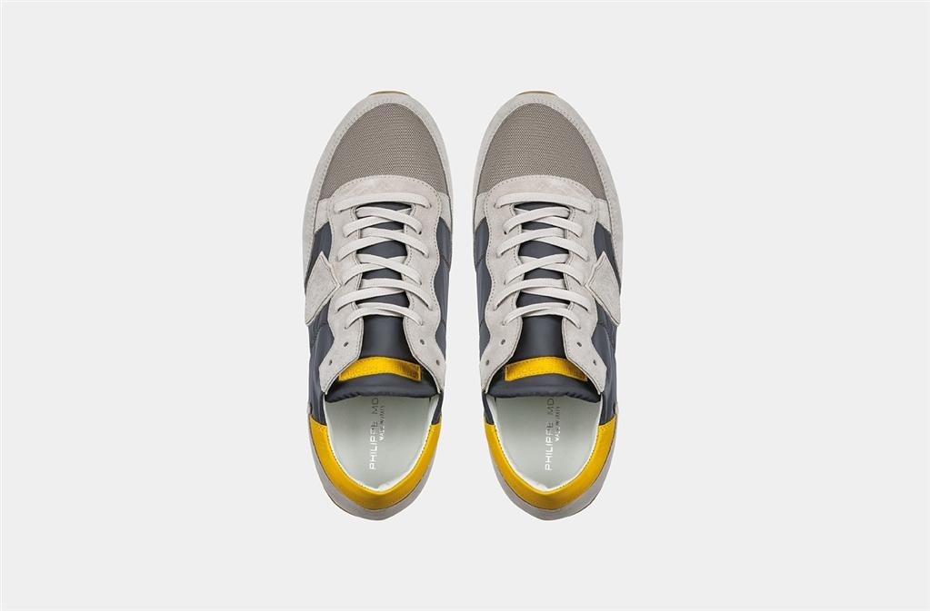 Philippe Model - Scarpe - Sneakers - tropez - mondial gris gris 3