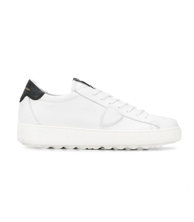 Philippe Model - Scarpe - Sneakers - SNEAKER IN PELLE MADELEINE BLANC/NOIR