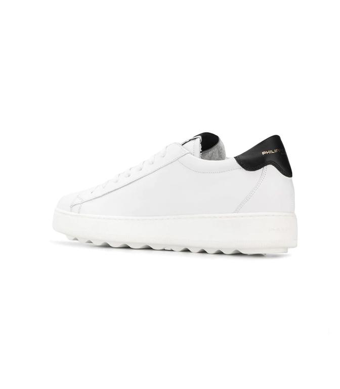 Philippe Model - Scarpe - Sneakers - sneaker in pelle madeleine blanc/noir 1