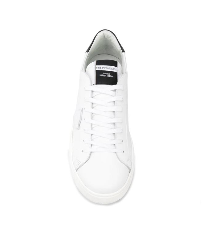Philippe Model - Scarpe - Sneakers - sneaker in pelle madeleine blanc/noir 2