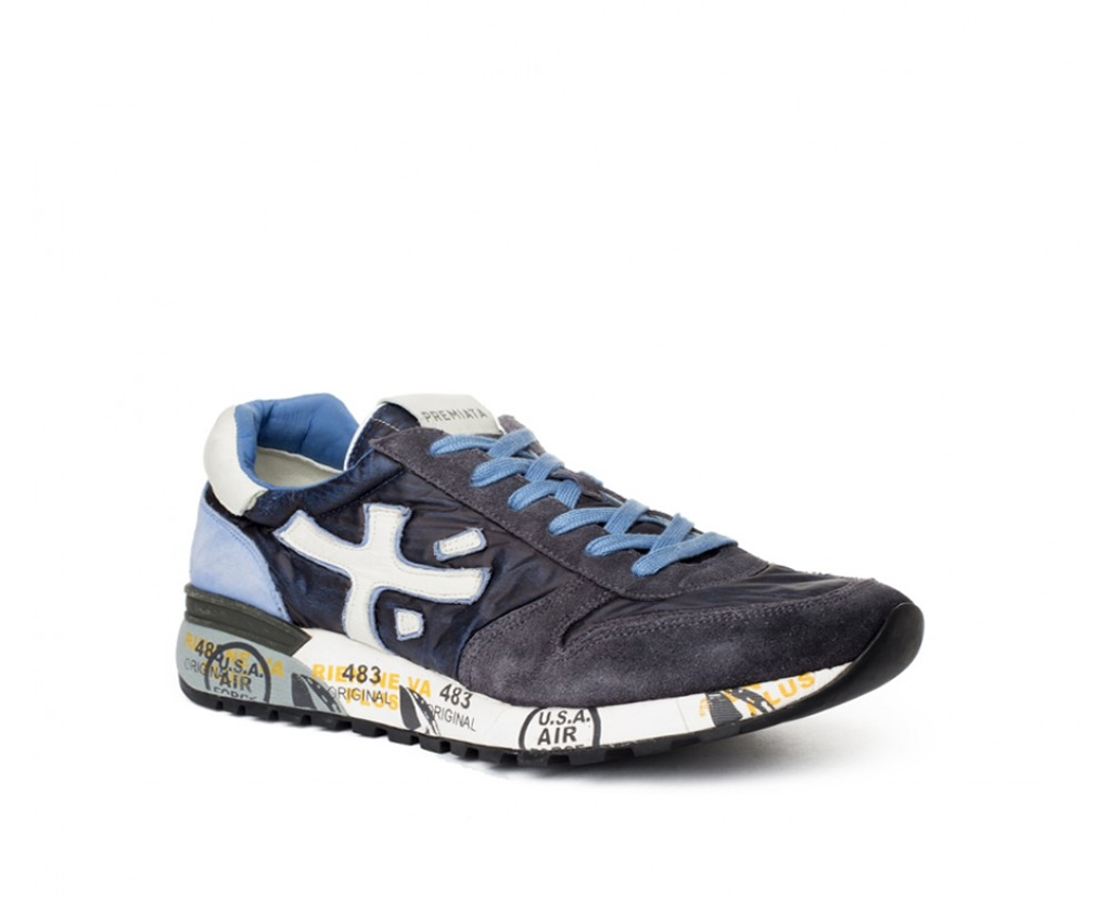 Premiata - Scarpe - Sneakers - mick 1280e blu 1