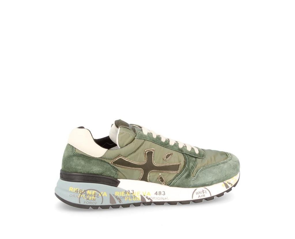 Premiata - Scarpe - Sneakers - mick 3252 verde militare 1