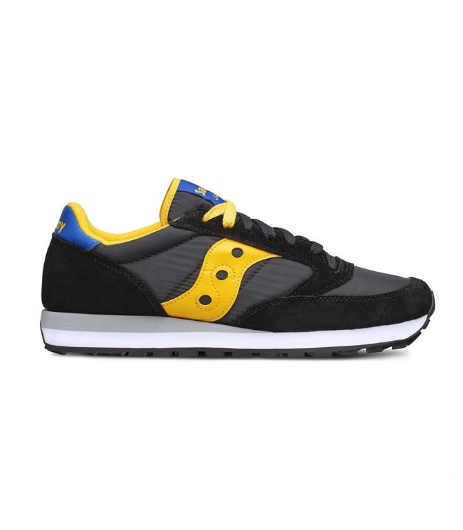 Saucony - Scarpe - Sneakers - SNEAKERS JAZZ O' BLACK/YELLOW/BLU