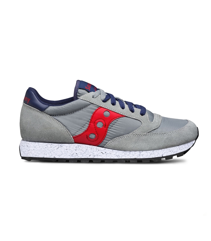 Saucony - Scarpe - Sneakers - SNEAKERS JAZZ O' GREY/RED