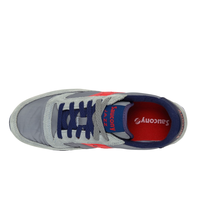 Saucony - Scarpe - Sneakers - sneakers jazz o' grey/red 1