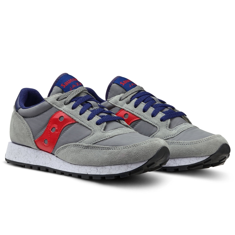 Saucony - Scarpe - Sneakers - sneakers jazz o' grey/red 2