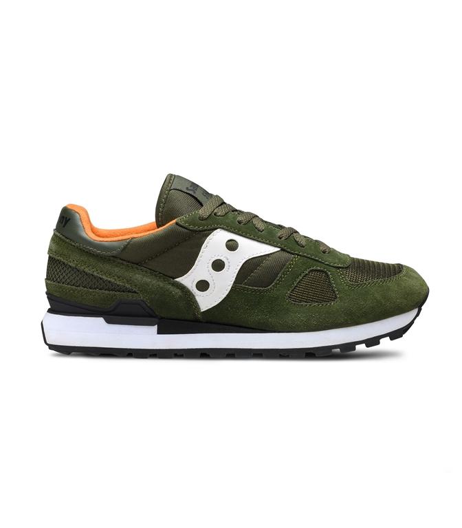 Saucony - Scarpe - Sneakers - SNEAKERS SHADOW O' DARK GREEN/WHITE