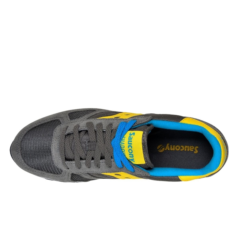 Saucony - Scarpe - Sneakers - sneakers shadow o' grey/yellow/white 1