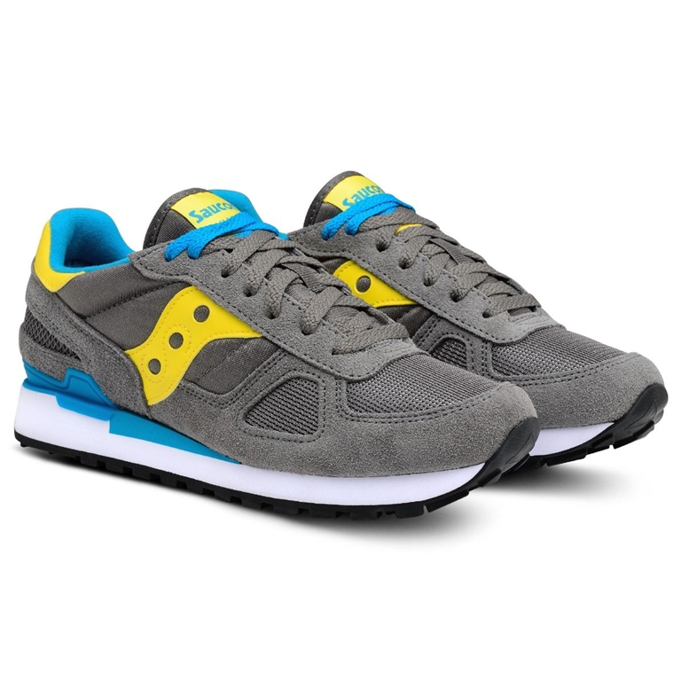 Saucony - Scarpe - Sneakers - sneakers shadow o' grey/yellow/white 2